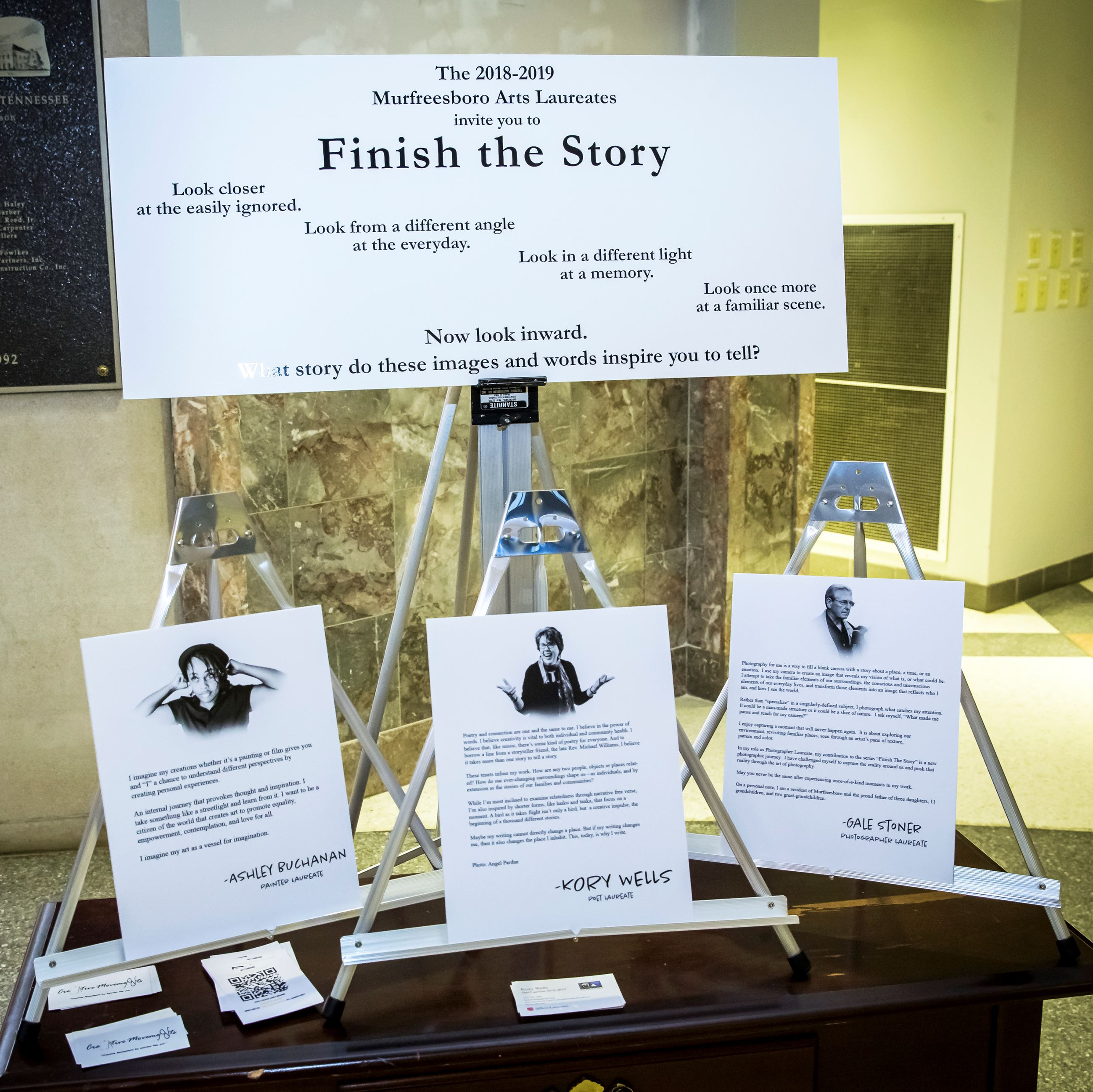 2018-19 Laureate Rotunda Show Display