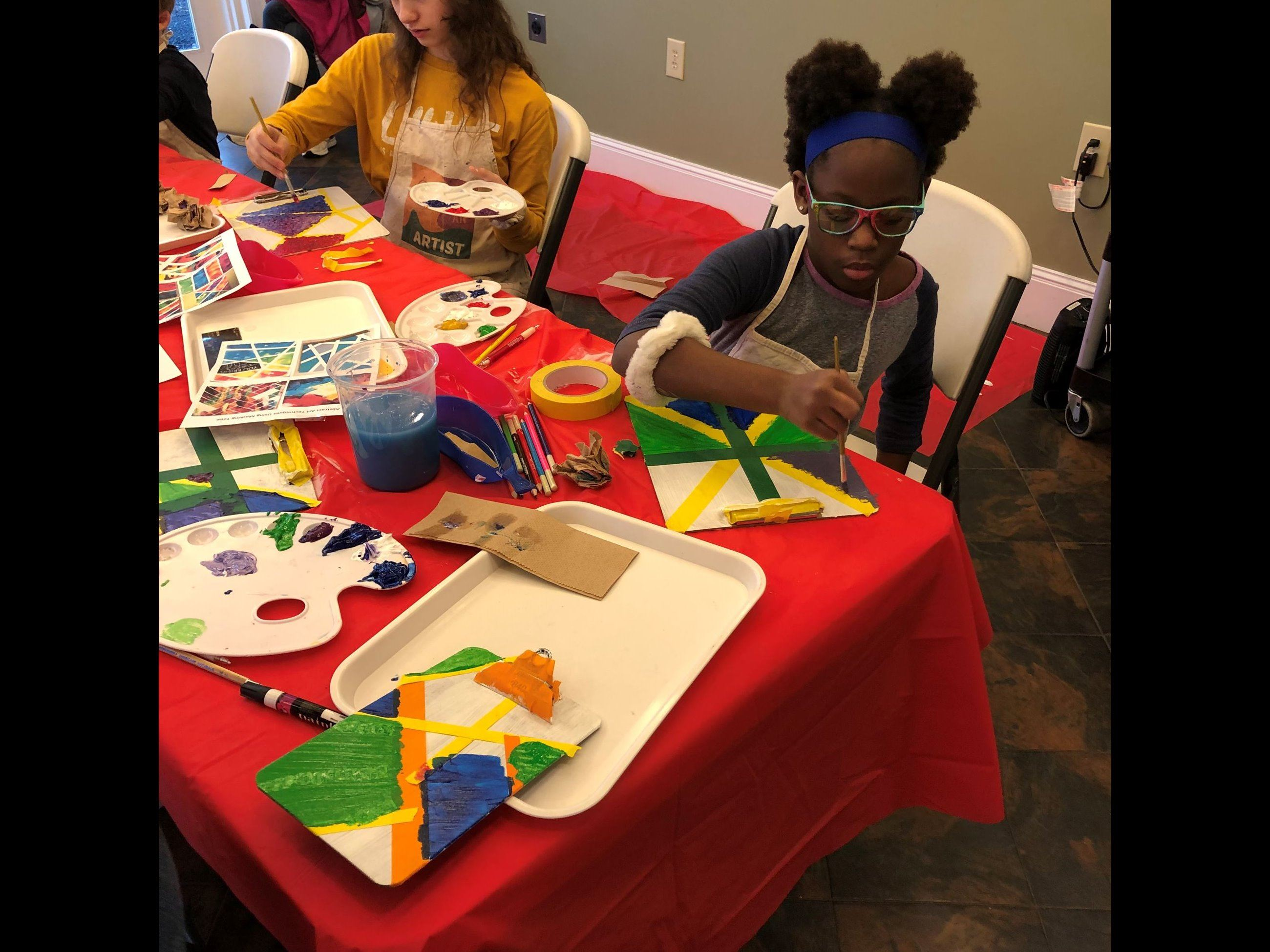 Abstract Art Homeschool Class
