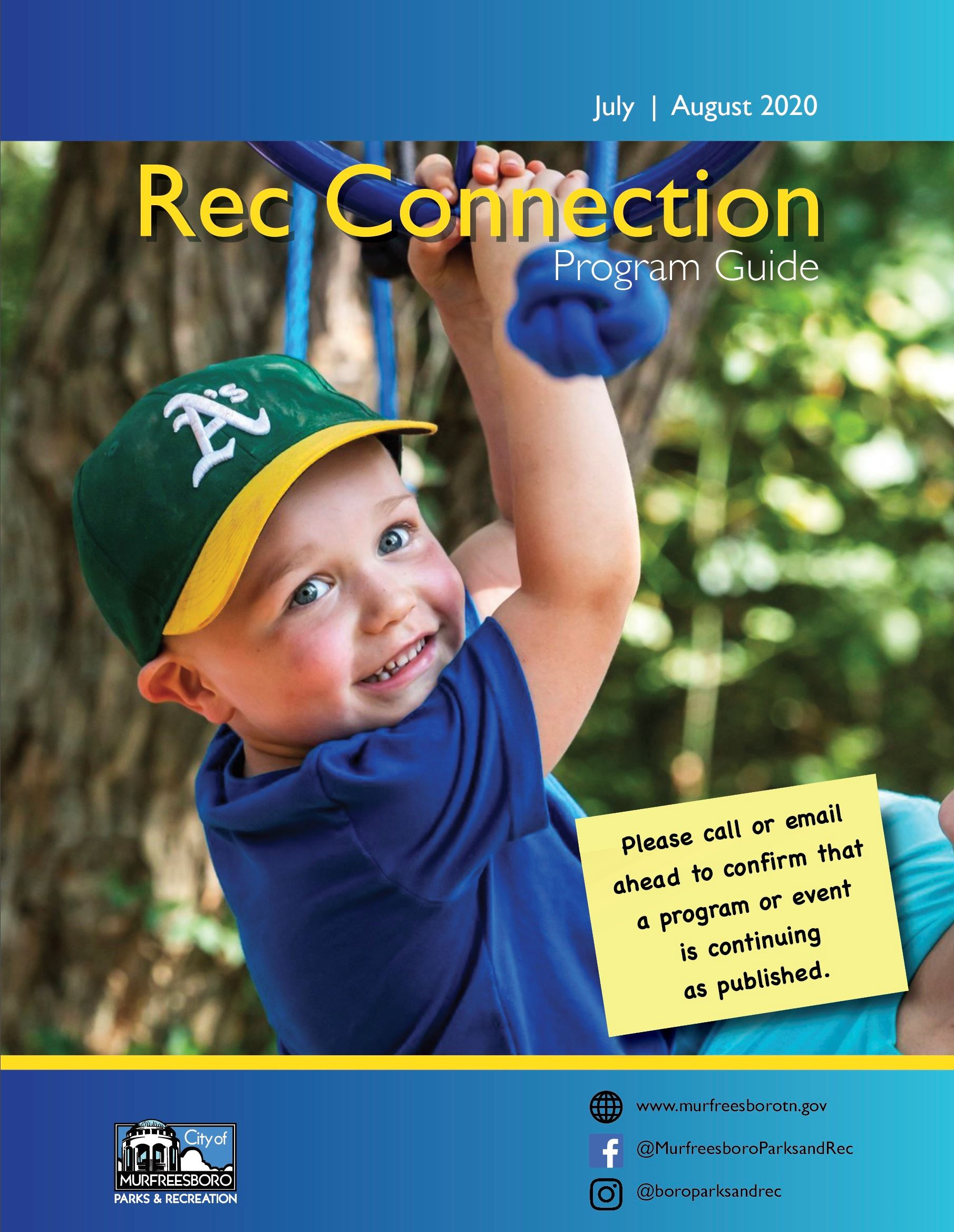 Rec Connection Cover July Aug 2020