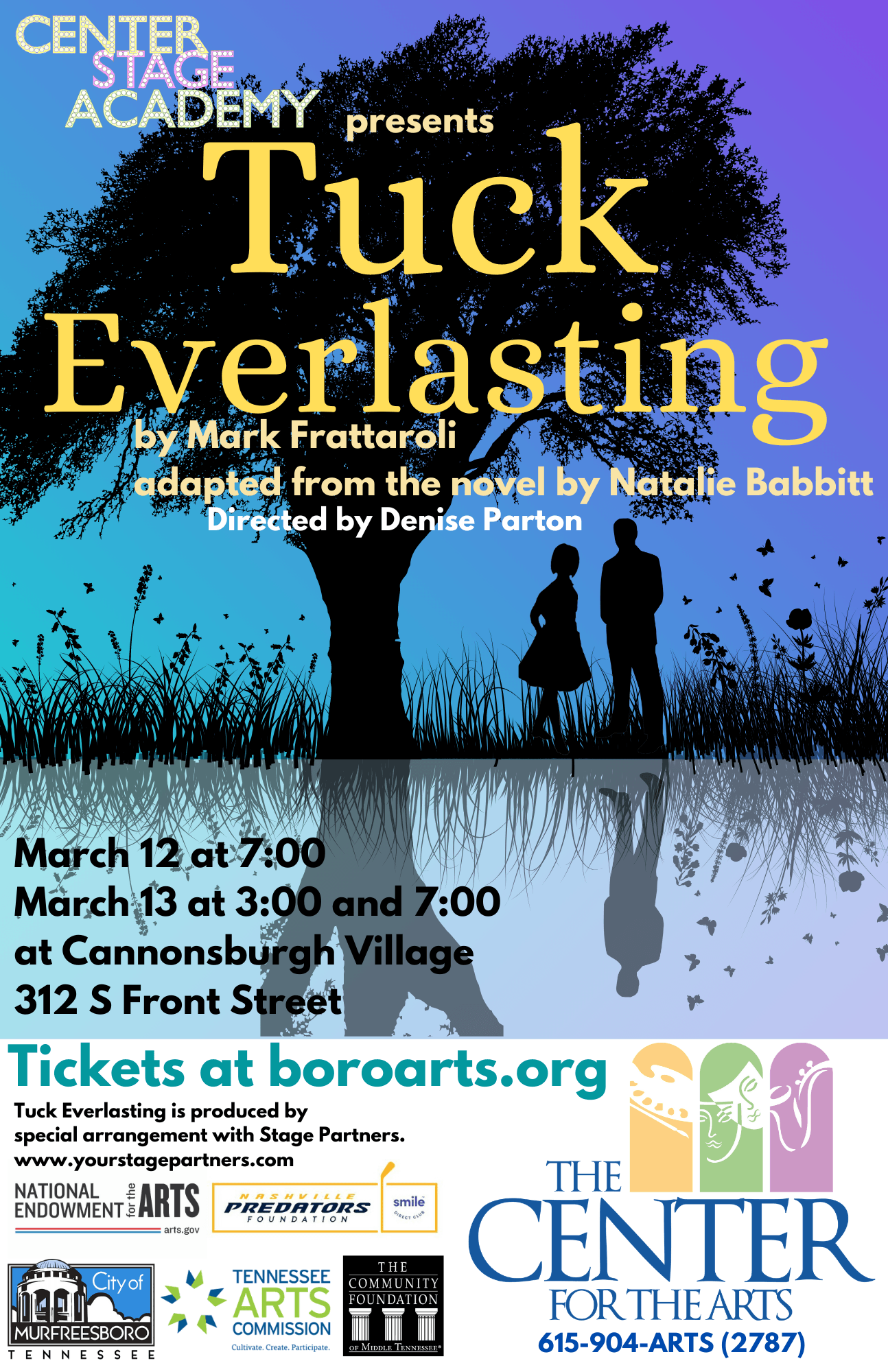 030121 Tuck Everlasting March 12-13  Poster
