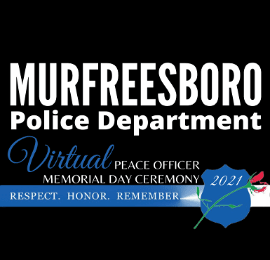 MPD VIRTUAL PEACE OFFICER MEMORIAL DAY LOGO