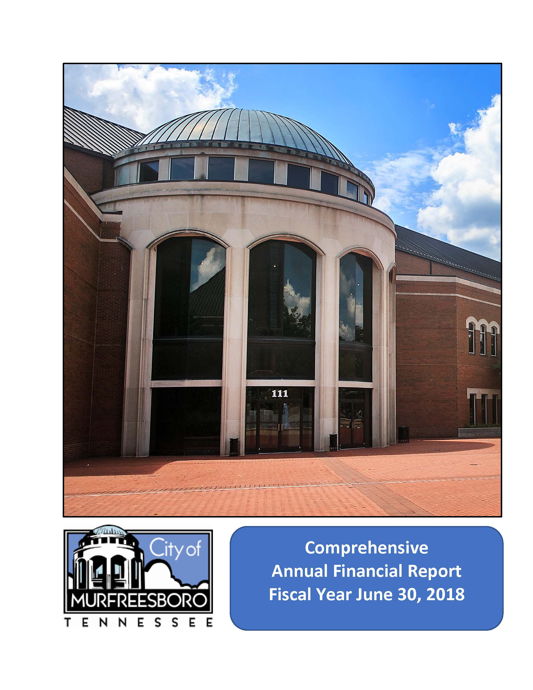 2018 Audit Cover