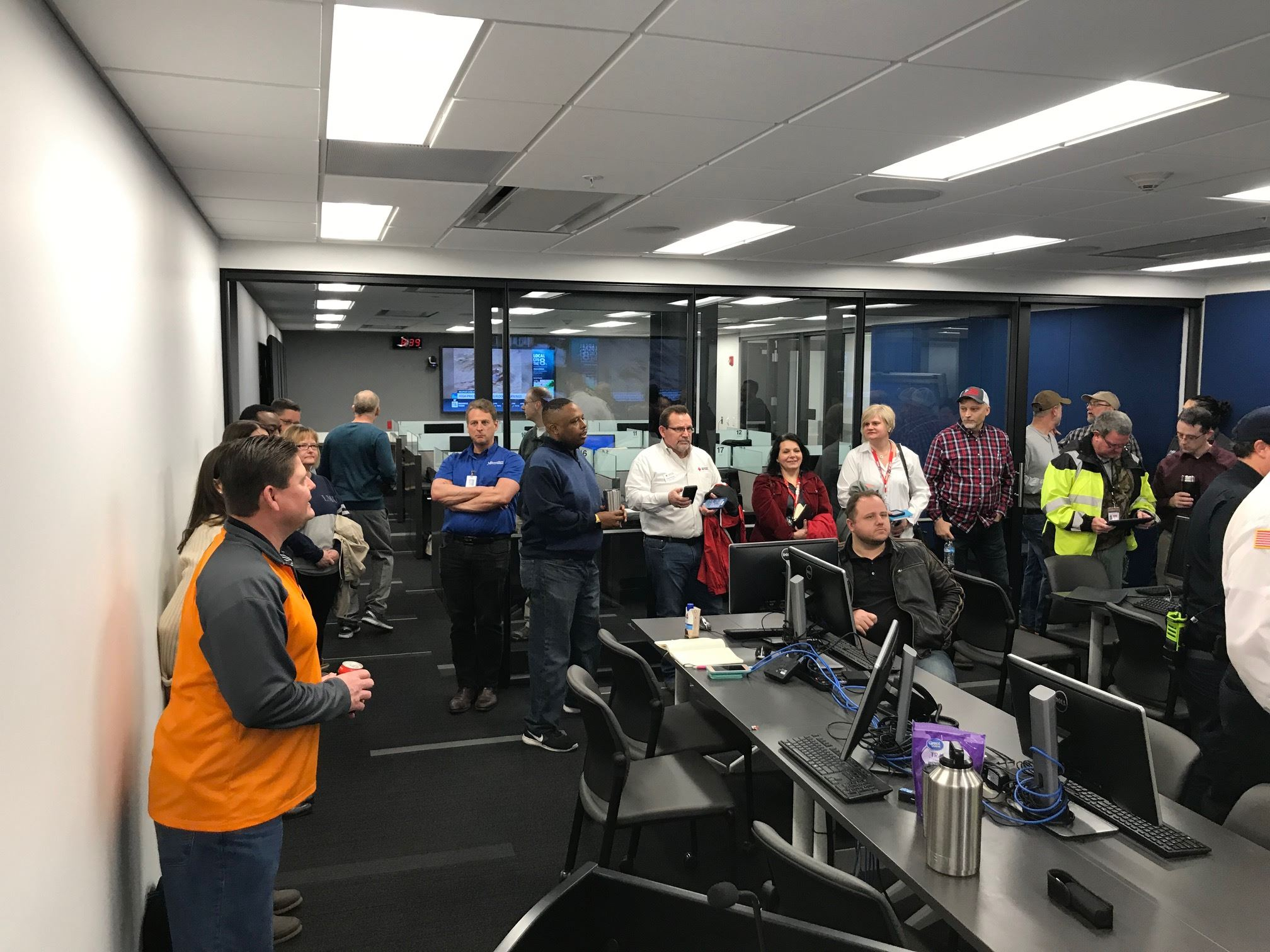 EOC Morning Briefing