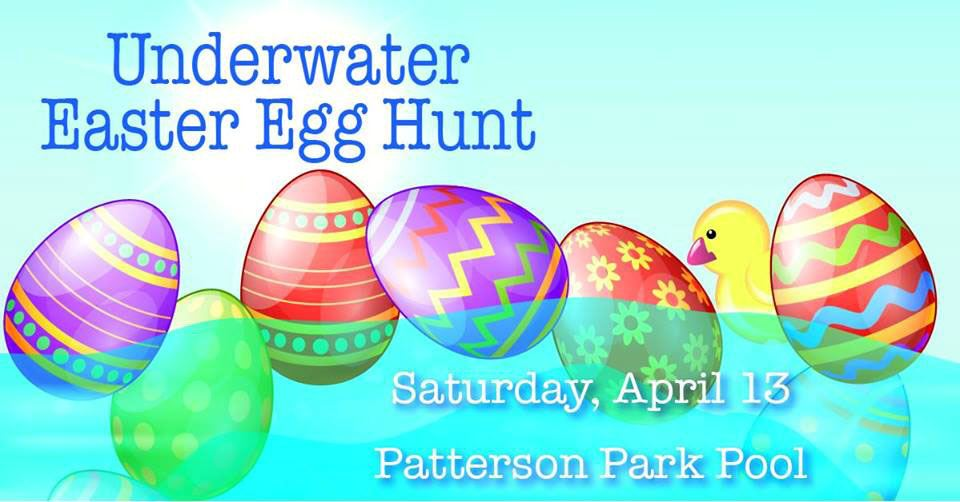 2019 underwater easter egg hunt patterson park pool for city website calendar