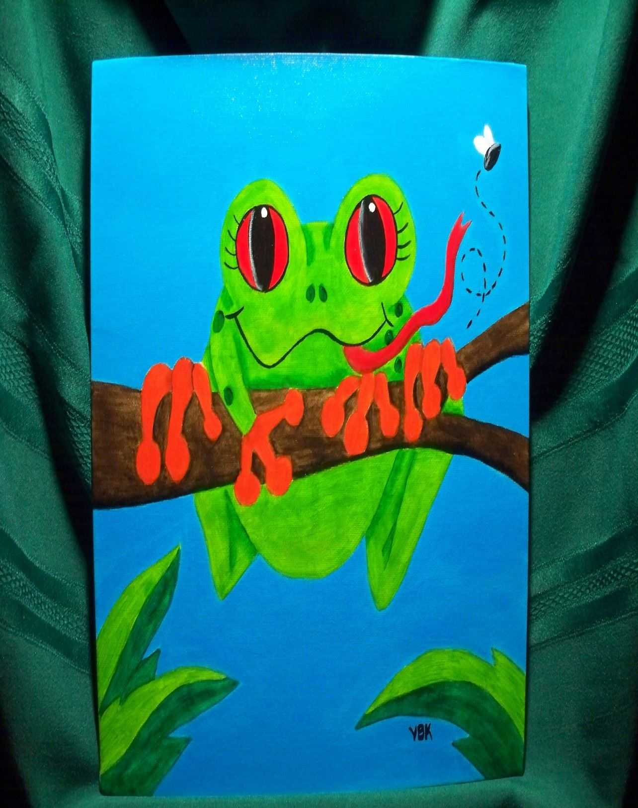 2019 05-23 inspired by nature tree frog