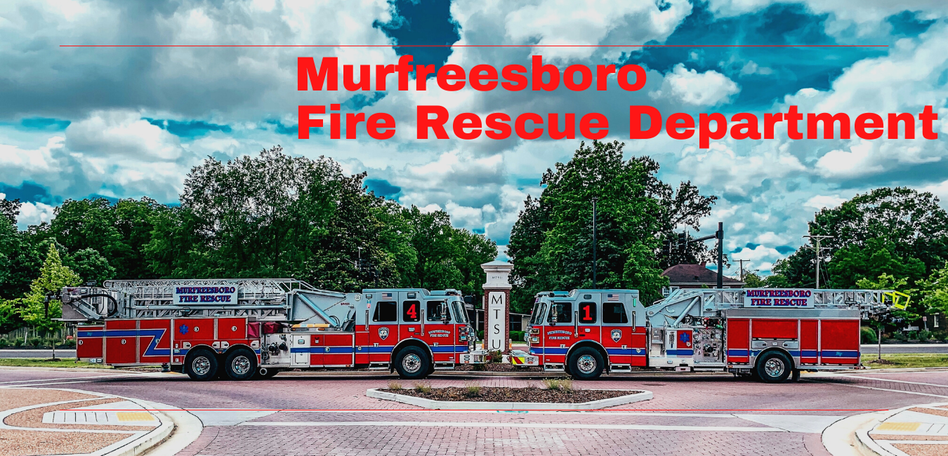 MFRD Fire Engines at MTSU Photo