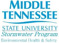 MTSU Stormwater Program logo