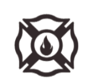 Fire Crest Icon Overlay