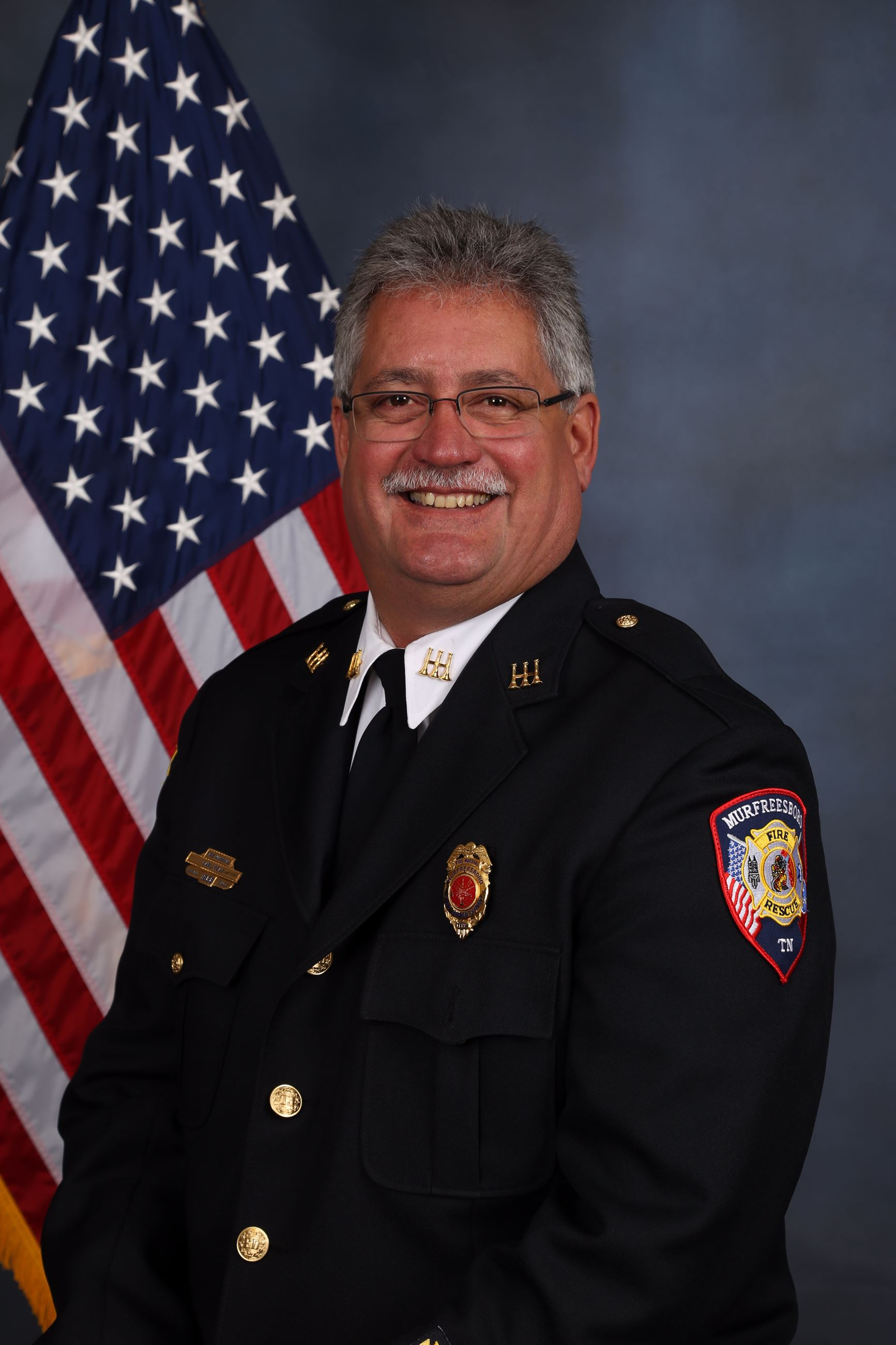 MFRD ASSISTANT CHIEF  CARL PEAS